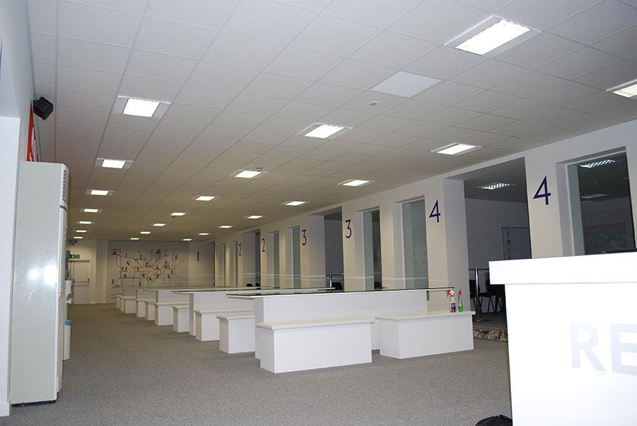 Owacoustic Ceiling Plasterboard Partitions Lu
